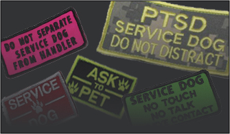 Service & Working Dog Patches